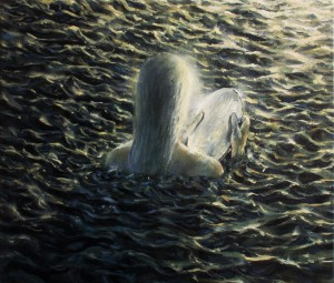 catching the river_ oil on canvas_30x35cm_2018
