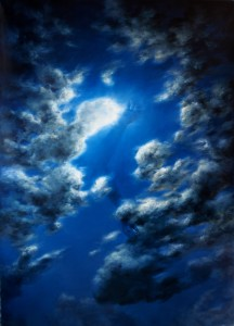 the sense of rotation oil on canvas 220x170cm 2019 m